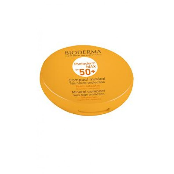 Bioderma Photoderm Max Spf50+ Compact Mineral Teinte Claire 10g