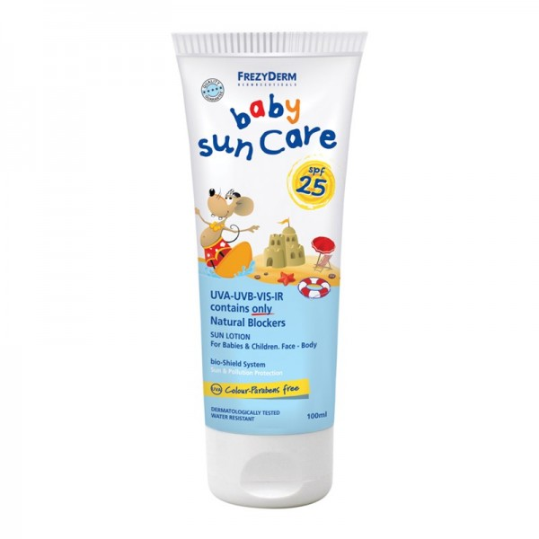 Frezyderm Sunscreen Baby Sun Care SPF 25 / UVA 100ml