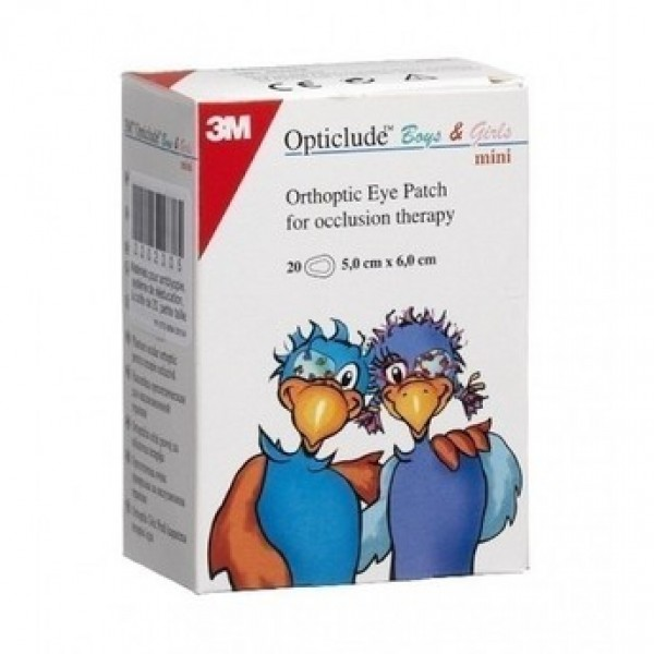 3M Opticlude Boys & Girls (5,0cm x 6,2cm) 20pcs