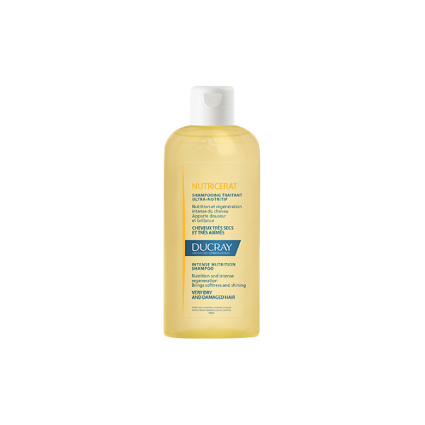 Ducray Nutricerat Shampooing Traitant Ultra-Nutrif for Very Dry & Damaged Hair 400ml (Σαμπουάν εντατικής θρέψης)