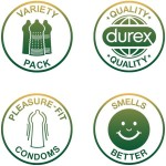 Durex Condoms Suprise Me Variety (40 Προφυλακτικά)