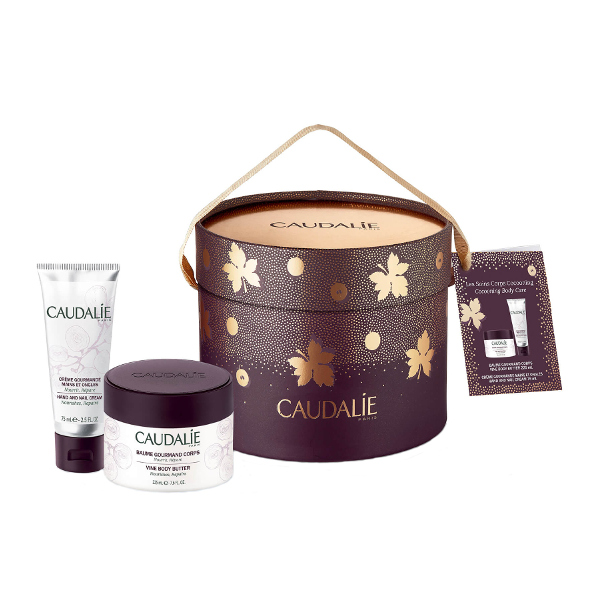 Caudalie Box Cocooning Body Care (Vine Body Butter 225ml + Hand & Nail Cream it s christmas time    ιδέες για χριστουγεννιάτικα δώρα   χριστουγεννιάτικα δώρα