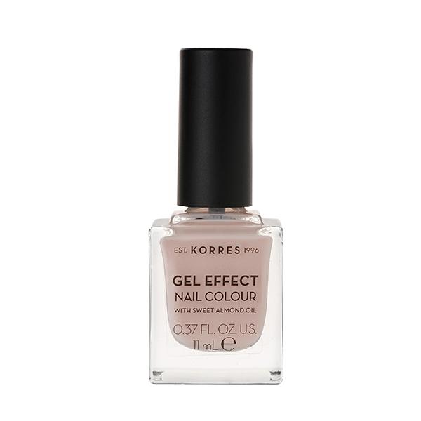 Korres Gel Effect Nail Colour 31 Sandy Nude 11ml καλλυντικα   μακιγιάζ   βερνίκια νυχιών